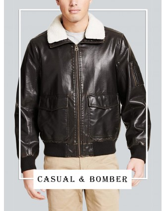 Exclusive Men's  Casual & Bomber Jackets