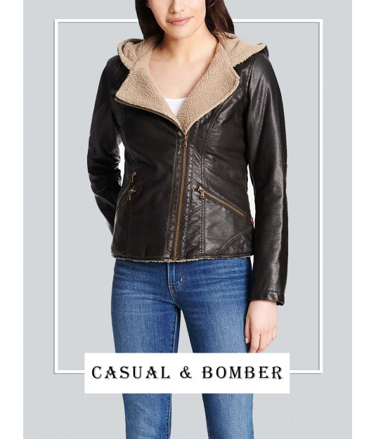 Exclusive Women's Casual & Bomber Jackets